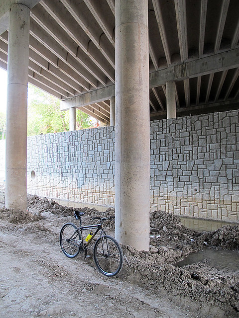 HUGE Retaining Wall