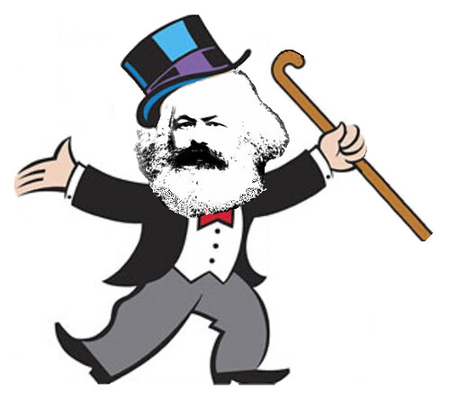 Karl Marx Cashes In