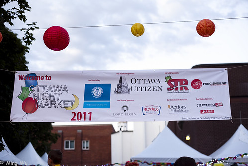 First Annual Ottawa Night Market