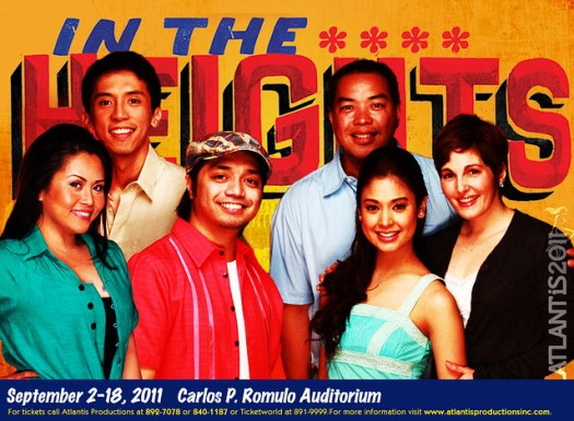 ATLANTIS PROD- In The Heights cast