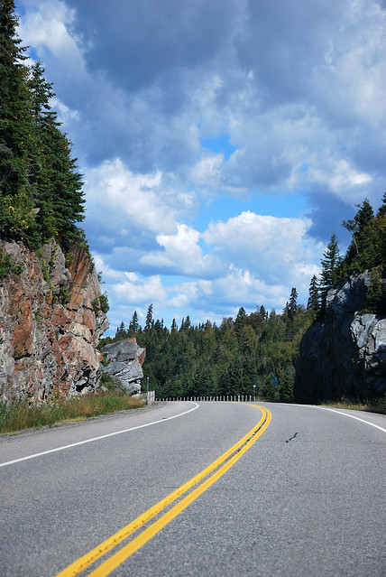 on the road to thunder bay