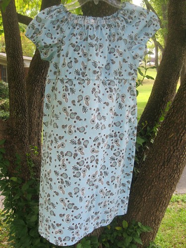 Molly Peasant Dress Full View