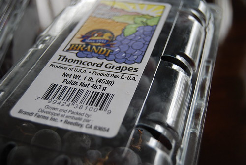 Thomcord Grapes
