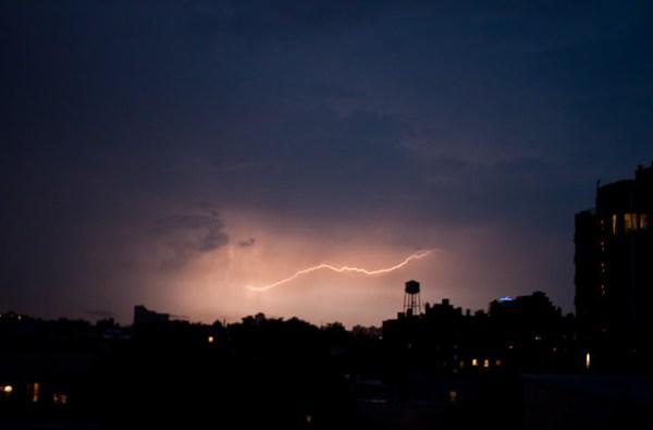 230/365 - Lightning over Greenpoint.