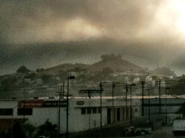 Bernal from Caltrain