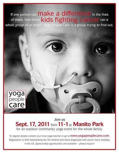 Yoga People Care About Childhood Cancer