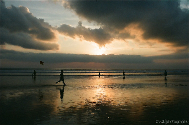 Sunset @ Legian Beach