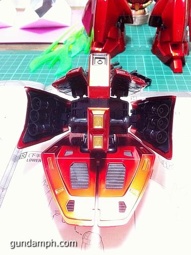 MG Sazabi Metallic Coating (Titanium-Like Finish) (40)