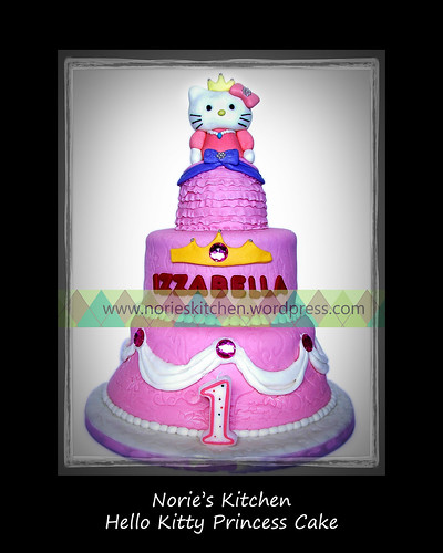 Norie's Kitchen - Hello Kitty Princess Cake by Norie's Kitchen
