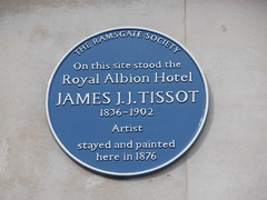 CT11 Kent Ramsgate Harbour James JJ Tissot Plaque