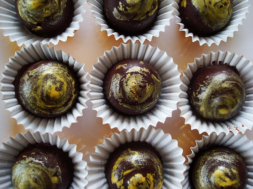 Passion Fruit Caramel Bon Bons