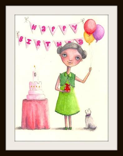 Birthday Girl - Kylie Pepyat-Fowler by Blissful Pumpkin