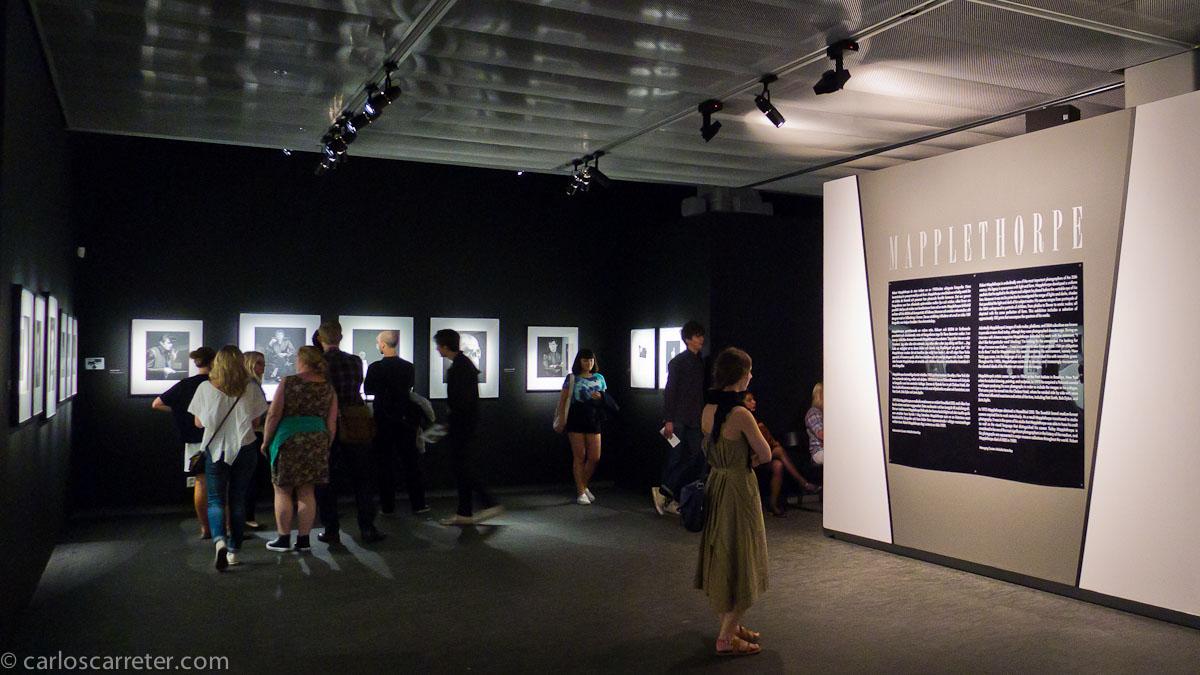 Exposición Mapplethorpe - Fotografiska