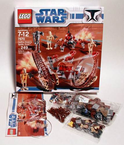 7670 Hailfire Droid & Spider Droid - 9