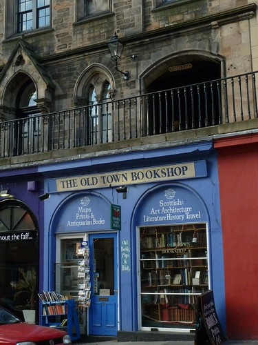 What temptation looks like - the Old Town Bookshop on Victoria Street