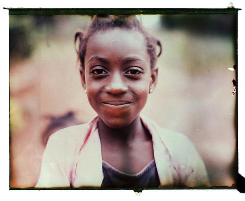 africa portrait ghana reclaimed polaroid195 ghanaian fp100c