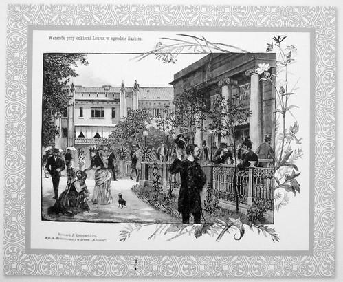 40. Lourse cake shop in the Saxon Garden, 1886