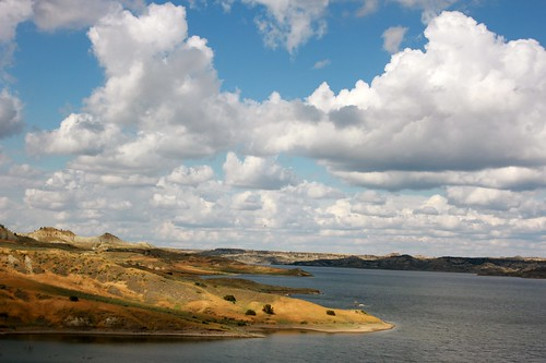 Fort Peck Lake.