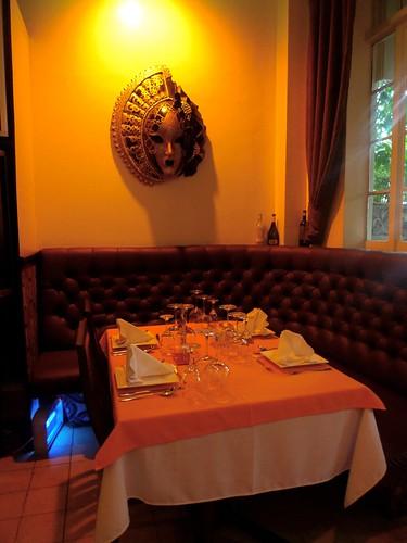 my favorite table @ Dolce Vita Manila