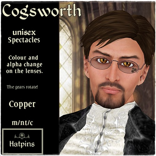 Hatpins - Cogsworth Spectacles - Sixty Linden Weekend