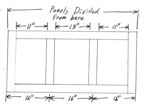 Panels Divided Outside