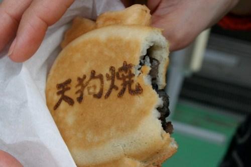 Back of the tengu taiyaki