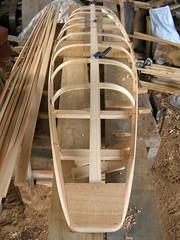 kayak gunwales & ribs