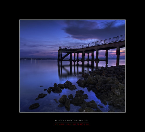 Archives_2005_to_Present #173 - Sembawang Jetty at Dawn by kuantoh