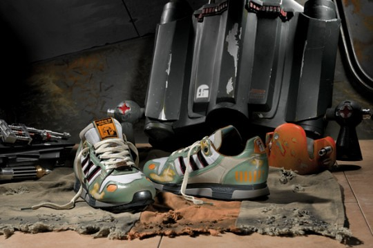 adidas Originals Star Wars Boba Fett ZX 800