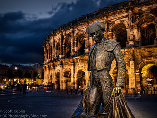 Nimes Coliseum Bullfighter