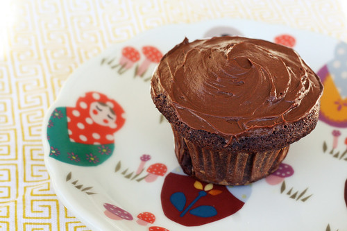 Gluten-Free Chocolate Cupcake with Vegan Chocolate Frosting