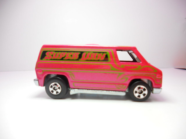 hot wheels hot ones super van