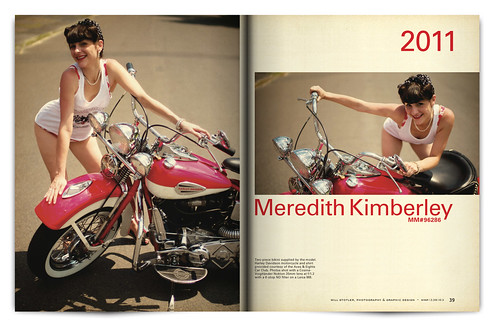 Vintage Magazine Spread Design Project - Pgs. 38 & 39
