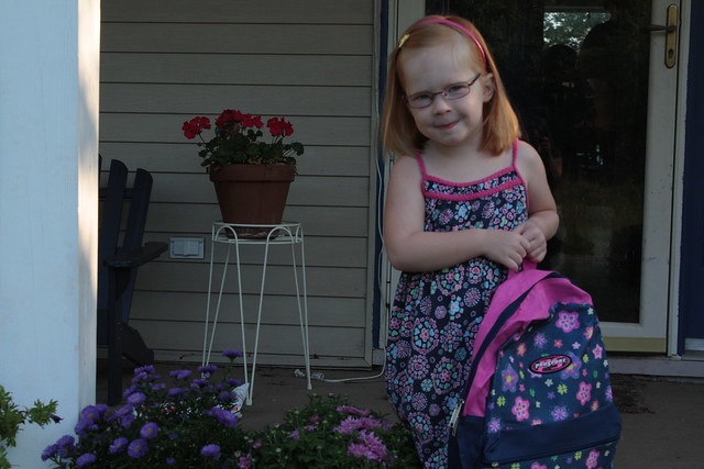 Tabby's 1st Day of School