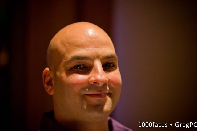 Face - bald man smiling