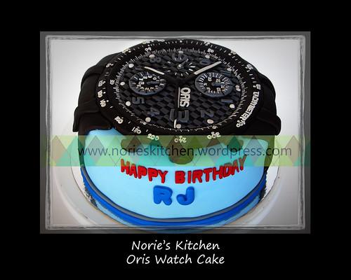 Norie's Kitchen - Oris Watch Cake