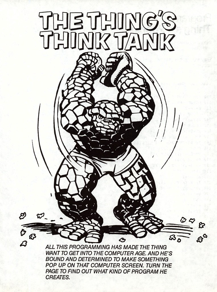 The Thing's Think Tank