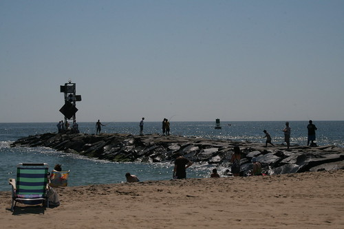 Jetty at Ocean City, MD