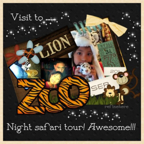 night safari @singapore zoo by refinehere