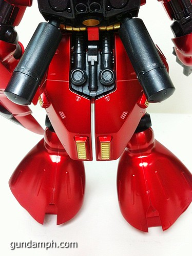MG Sazabi Metallic Coating (Titanium-Like Finish) (54)