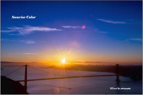 Sunrise Color by davidyuweb