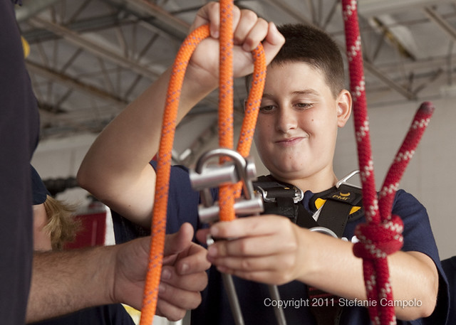 Ocean City Fire Department's Junior Firefighter Program