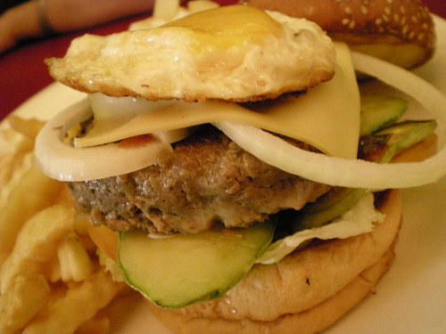 SG beef burger