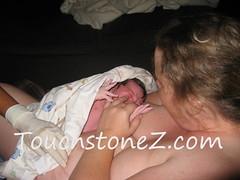Gan born at home