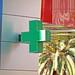 Walgreens MGM Facade - Details - Green Cross