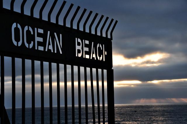 Ocean Beach Pier Entrance