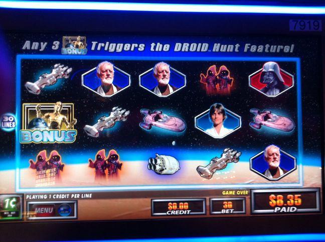 Star Wars Droid Hunt screen