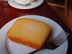Lemon Pound Cake, Arthouse Cafe, Luang Prabang