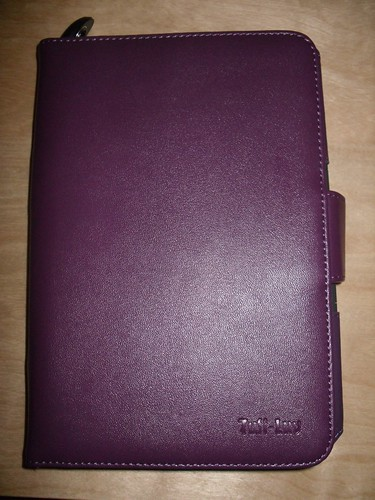 Outside cover (with light stored inside spine)