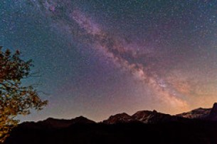 [フリー画像] 自然・風景, 空, 夜空, 天の川・銀河系, スイス, 201109201900